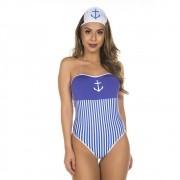 Mini Body Marinheira Capitã Pimenta Sexy