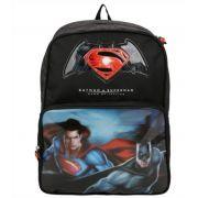 Mochila escolar DC Batman e Superman Luxcel