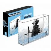 Porta Retrato Água Foto 10x15cm - Fé - Não Coloque Limites Presente Brasfoot
