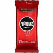 Preservativo Camisinha Tradicional Clássico 1 pacote com 12 Unid. Prudence