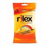 Preservativo Efeito Retardante Camisinha 1 pacote com 6 unid Rilex