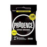 Preservativo Extra Grande Camisinha Prudence kit com 5 pacotes
