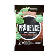 Preservativo Morangão Extra Grande Cor e Sabor Camisinha Prudence kit com 5 pacotes