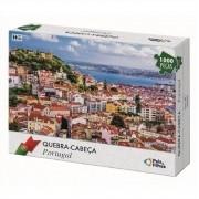 Quebra Cabeça Cartonado Portugal 1000 Peças Jogos Pais e Filhos