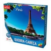 Quebra Cabeça Torre Eiffel Paris Premium 500 Peças Pais e Filhos