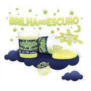 Slime Neon Brilha no Escuro Caixa com 6 unidades 180g Kimeleca Acrilex