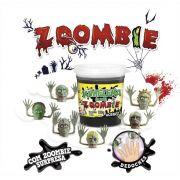 Slime Zombie Dedoches Caixa com 6 unidades 180g Kimeleka Acrilex