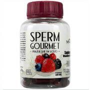 Suplemento Vitamínico Sperm Gourmet Sabor na Ejaculação 60 Cápsulas Hot Flowers