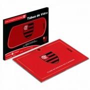Tábua de vidro Churrasco Times Flamengo Presente Brasfoot