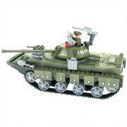 Tanque de Guerra do Exército 213 Peças Blocos de Montar Click It