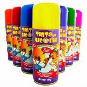 Tinta Spray Colorida p/ Cabelo Cores Variadas Kit 10 Unid. Tinta da Alegria