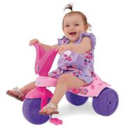 Triciclo Velotrol Pantera Infantil Meninas Xalingo Pink