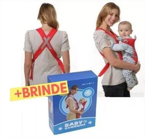 Canguru Mamãe Carregar O Bebê Ergonômico + Brinde