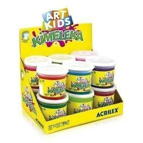 Slime Caixa com 12 unidades Kimeleka 180g Acrilex