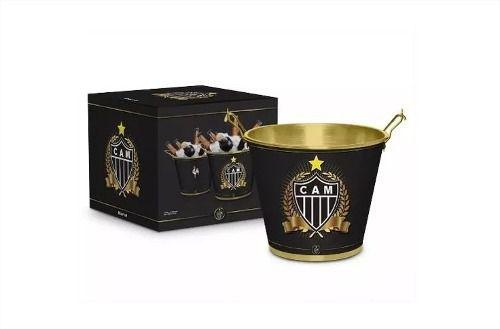 Balde De Cerveja Gelo Metal Atletico Mineiro Galo Presente Brasfoot