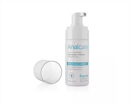 Espuma Para Higienização E Cuidado Íntimo Analcare 100ml Adão e Eva