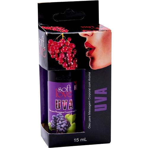 Kit 5 unidades Gel Comestível Hot e ice 15ml Soft Love