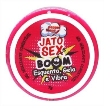 Gel Comestível Esquenta, Gela E Vibra Jato Sex 7g Pepper Blend
