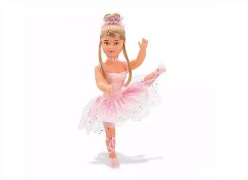 Boneca Bailarina Com Sapatilha De Balé Anjo Brinquedos