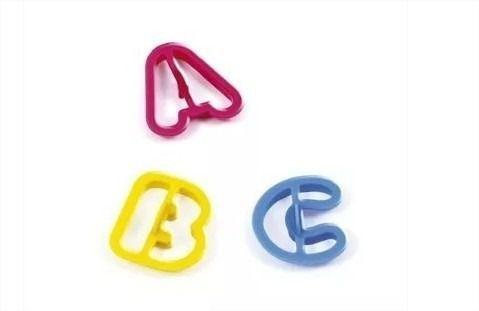 Massinha P/ Modelar Criativa Art Kids Letras E Números 55 moldes Acrilex