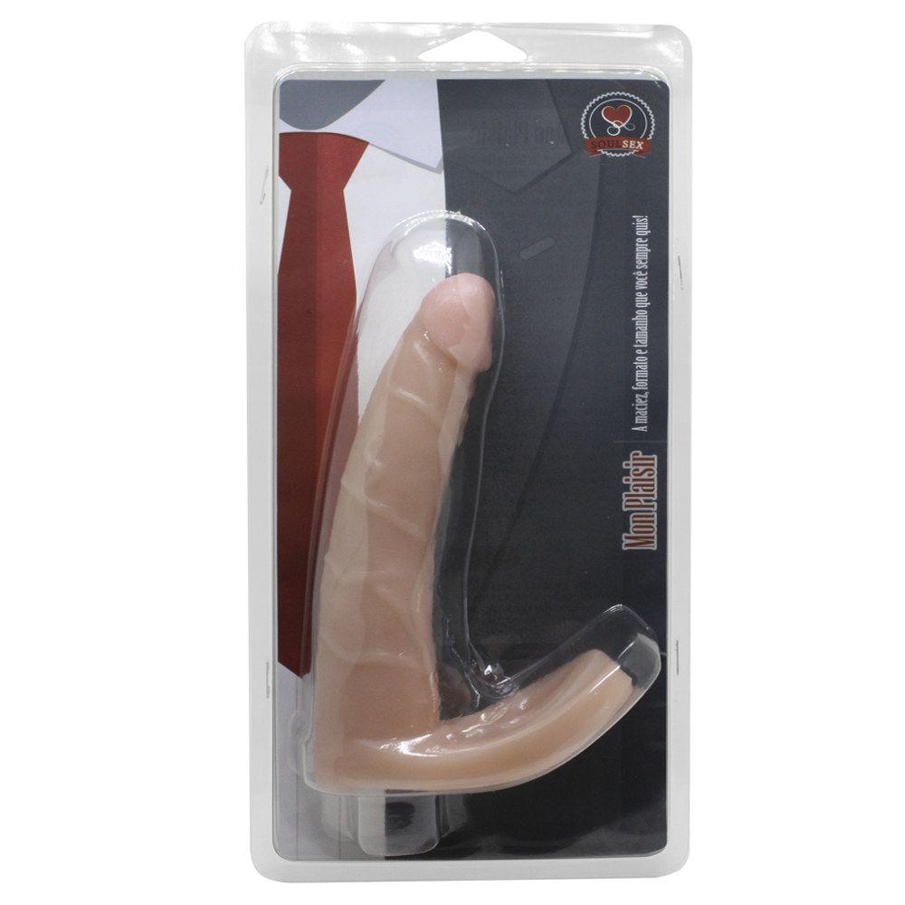 Anel Companheiro Em Formato De Pênis 16x3cm Soul Sexy