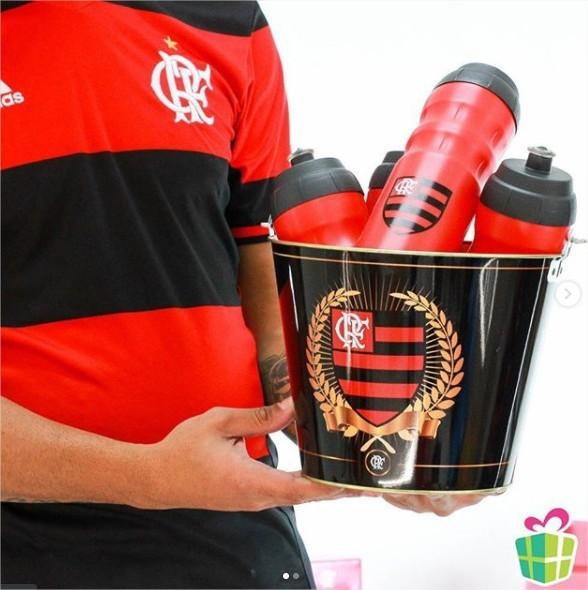 Balde Para Gelo Cerveja Times Flamengo Presente Brasfoot