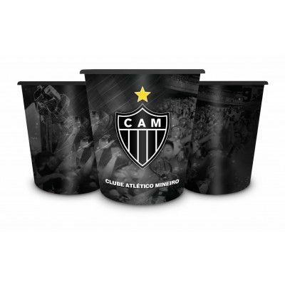 Balde Para Pipoca Atlético Mineiro Galo Presente Brasfoot