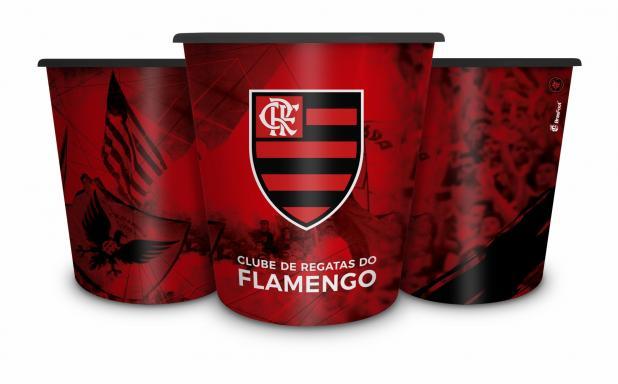 Balde Para Pipoca Flamengo Presente Brasfoot