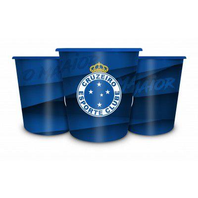 Balde Para Pipoca Time Cruzeiro Presente Brasfoot