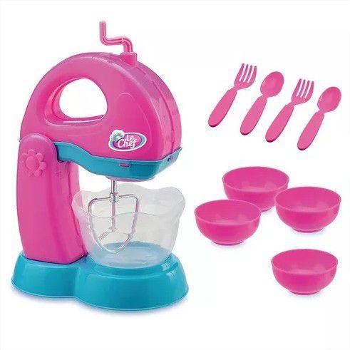Batedeira Infantil Le Chef Com Acessórios Usual Brinquedos
