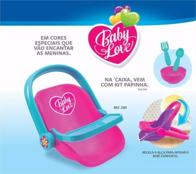 Bebê Conforto Baby Love com Acessórios Usual Brinquedos