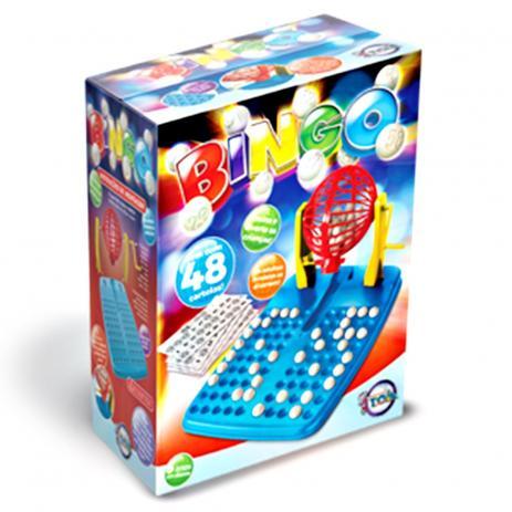 Bingo Jogo Divertido 48 Cartelas Globo Com Números Toia