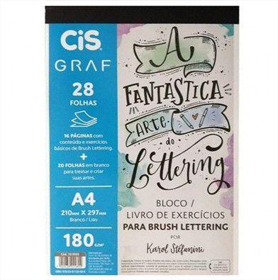 Bloco Livro De Exercícios Para Brush Lettering Karol Stefanini Cis Graf