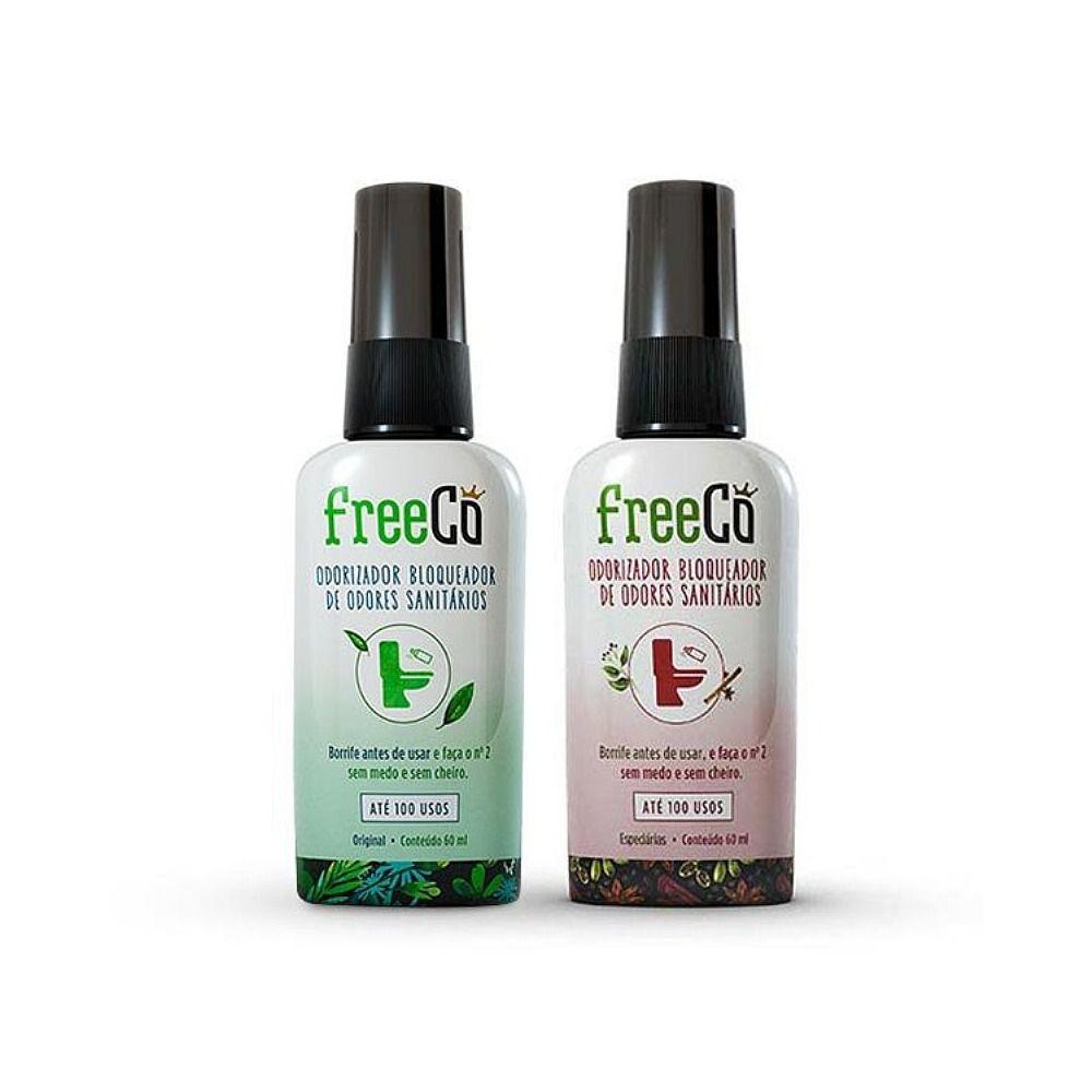 Bloqueador De Odor Sanitário 1unid Freecô  60ml