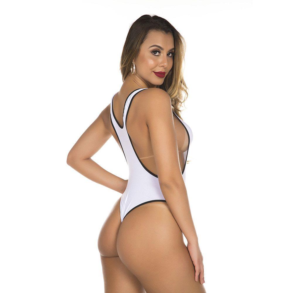 Body Fantasia Ring Girl Round Lutadora Pimenta Sexy