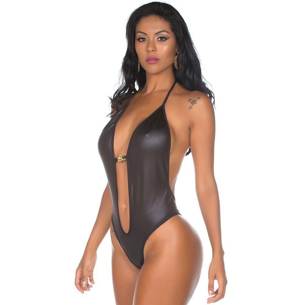 Body Sensual Preto Imprudence Pimenta Sexy