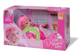 Boneca Que Fala Infantil Vinil Bee Dreams 42cm Bee Toys