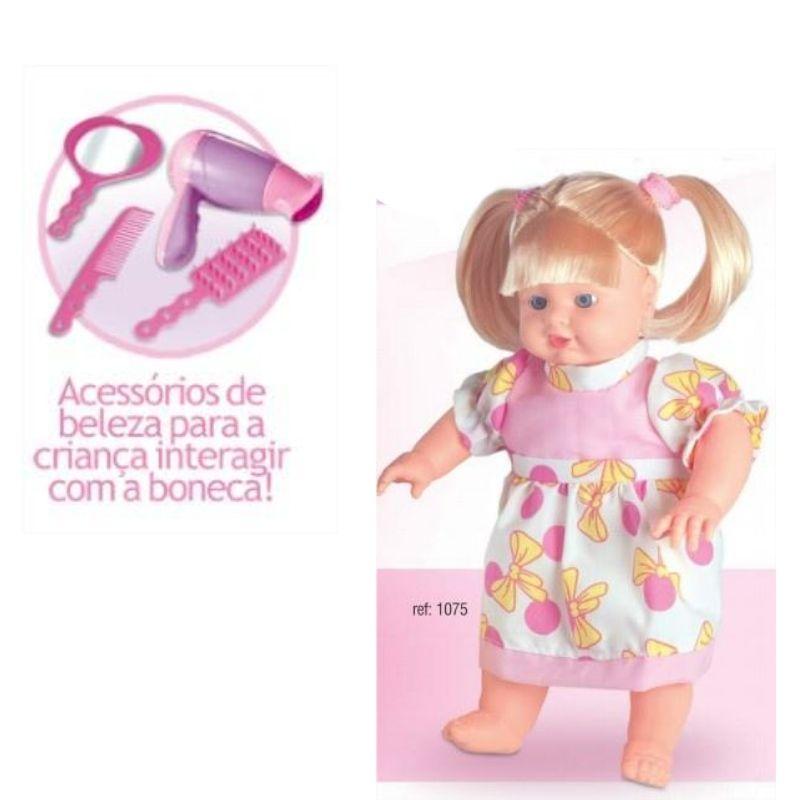 Boneca Maju Beauty Salon com Acessórios Nova Toys