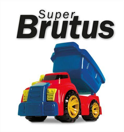 Caminhão Caçamba Super Brutus Primeira Idade Brincar E Crescer Divplast