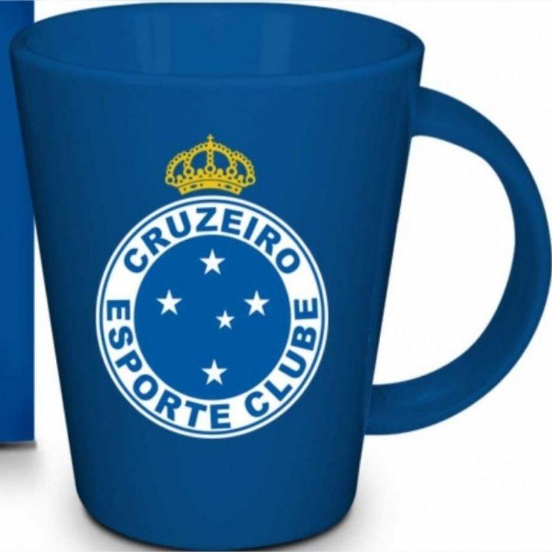 Caneca Cerâmica na caixa 360ml - Cruzeiro Brasfoot