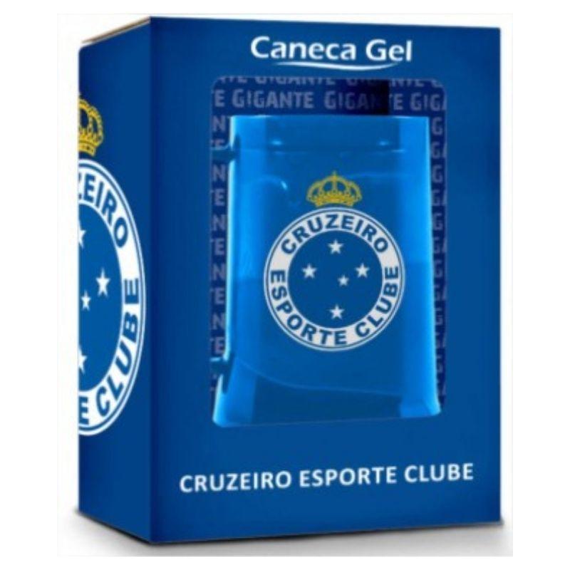 Caneca Gel Congelante 450ml Cruzeiro O Gigante Azul Brasfoot