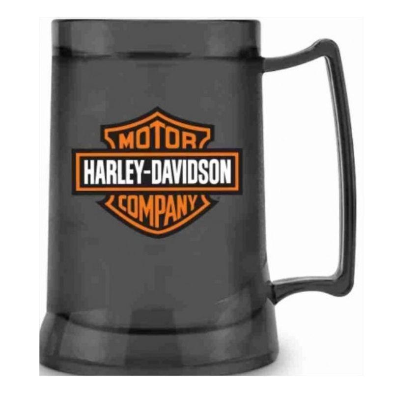 Caneca Gel Congelante Chopp Harley Davidson 300ml Brasfoot