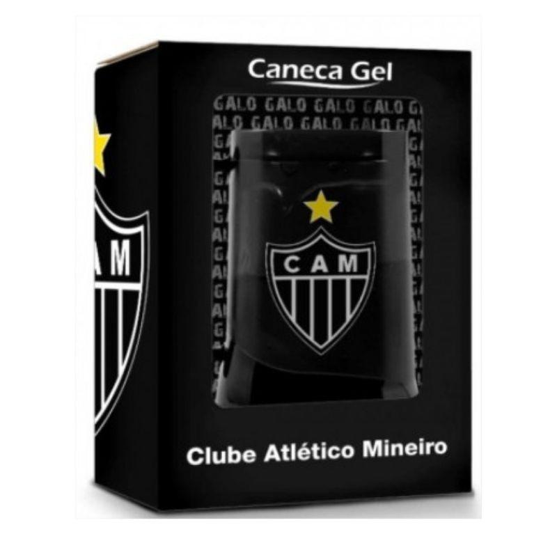 Caneca Gel Congelante Oficial Térmica Atlético Mineiro 450ml Brasfoot