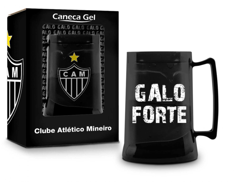 Caneca Gel Congelante Oficial Térmica Atlético Mineiro Brasfoot