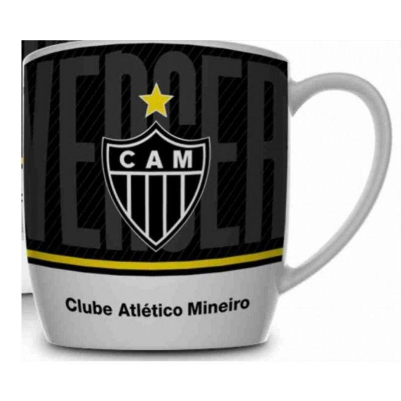 Caneca Porcelana Urban 360ml na caixa - Atlético Mineiro Brasfoot