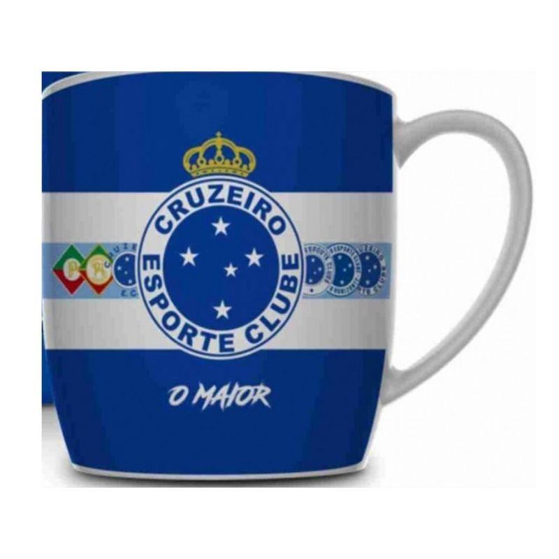 Caneca Porcelana Urban 360ml na caixa - Cruzeiro Brasfoot