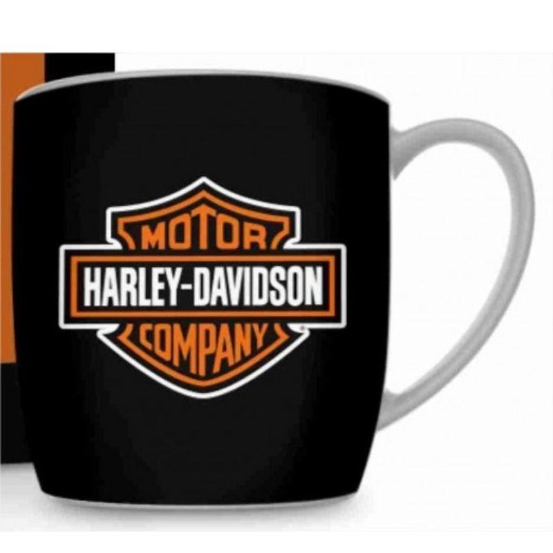 Caneca Porcelana Urban Harley Davidson 360ml Brasfoot