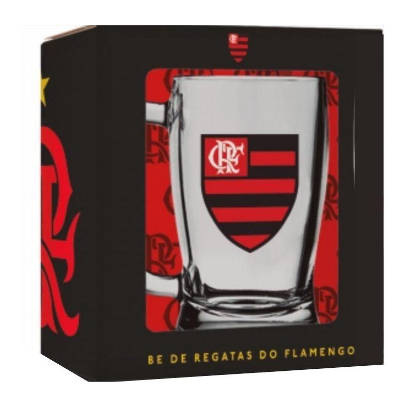 Caneca Taberna de Chopp Flamengo 340ml Brasfoot