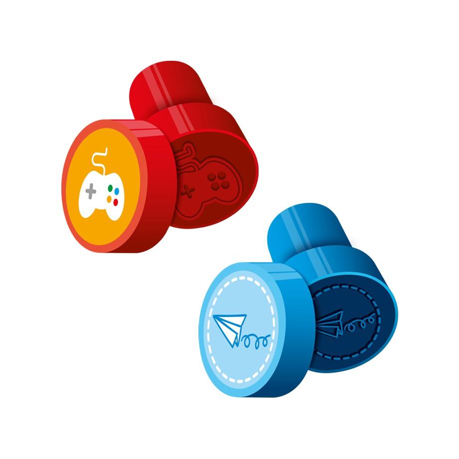 Carimbo Pedagógico Stamp Brincadeiras 1CX com 24 unidades Cis