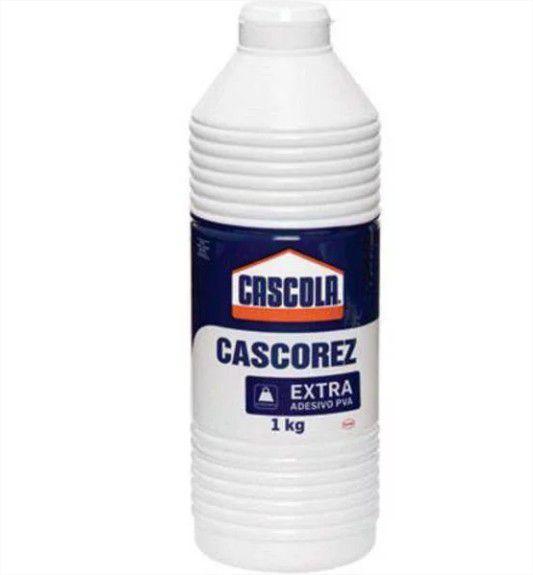 Cola Branca Extra Forte Adesivo PVA  1kg Cascola